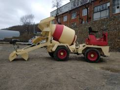 Silla. Самоходный миксер-бетонозавод DB2000, 2 400куб. см., 2,00куб. м.