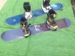 Сноуборд с креплением и ботинками Япония