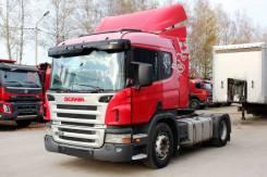 Scania P340LA. Тягач Скания Scania P340 2008 год, 10 600куб. см., 12 890кг., 4x2