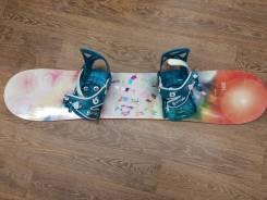 Детский сноуборд + Крепления. 100,00см., all-mountain (универсальный)