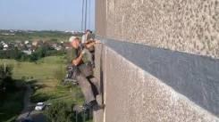 Утепление стен снаружи гермитизация швов высотные работы