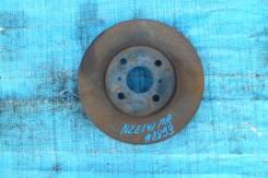 Диск тормозной. Toyota Corolla Axio, NZE141 Toyota Corolla Fielder, NZE141, NZE141G Двигатель 1NZFE