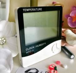 Гигрометр для определения влажности с батарейкой