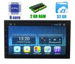 Универсальная 2DIN (178x100) магнитола 8 Core Android 2D98-T8
