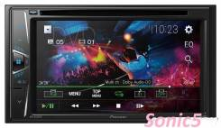 Автомагнитола Pioneer AVH-G110DVD/USB спереди /MP3/2DIN NEW