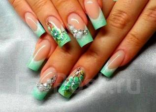 Идеи Маникюра На Короткие Круглые Ногти Фото