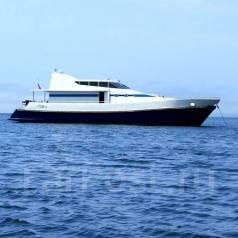 Аренда моторной яхты, катера на борту сауна на дровах, водолаз . 30 человек, 30км/ч