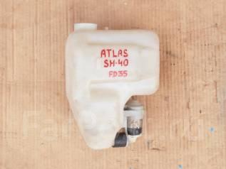 Бачок стеклоомывателя. Nissan Atlas, SH40 Двигатель FD35