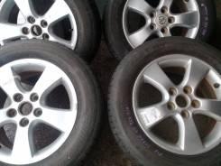 Продам летние колеса 215/60-16 Bridgistoyne на дисках Toyota