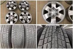 """265/70R16 Dunlop Sj8 - 90% с литьем MMC Pajero/L200. 7.5x16"""" 6x139.70 ET46 ЦО 67,1мм."""