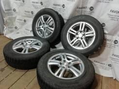Фирменные литые Weds Joker на шинах Bridgestone 215/65R16