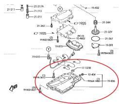 Поддон коробки переключения передач. Mazda: Atenza, Training Car, Premacy, 626, Mazda3, Familia, Mazda6, MPV, 323, Mazda5, Axela, Capella