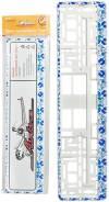 Рамка под номерной знак Гжель AIRLINE AFC-06