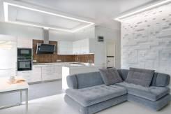 Дизайн-проект квартиры на Комарова. 80 кв. м. для молодой семьи. Тип объекта квартира, комната, срок выполнения месяц