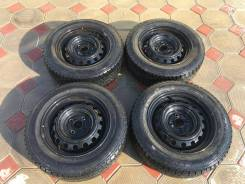 """Комплект зимних колес Goodyear 175/70 R14. 5.5x14"""" 4x100.00 ET33 ЦО 53,0мм."""