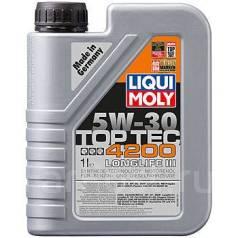 Liqui Moly Top Tec. Вязкость 5W-30, гидрокрекинговое