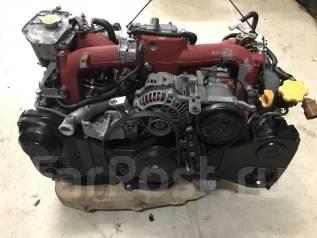 Двигатель в сборе. Subaru Impreza WRX STI, GDB, GD, GGB Двигатели: EJ207, EJ20
