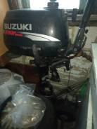 Suzuki. 5,00л.с., 4-тактный, бензиновый, нога S (381 мм), 1994 год год