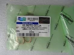 Прокладка под форсунку DE12TiS Daewoo 65.98701-0012