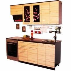 "Кухня ""Сакура-2м""(+сушка,мойка)"