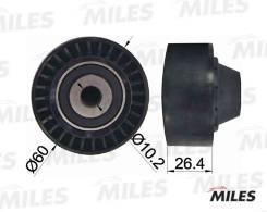 Ролик ремня приводного PEUGEOT 206/PARTNER 1.1-1.6 AG03024