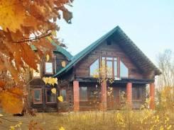 Купить уникальный двухэтажный дом общей площадью 247 кв. м. из Кедра. Улица Голубичная 5, р-н Весенняя, площадь дома 247кв.м., централизованный водо...