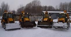 Уборка снега, Услуги погрузчика, экскаватор-погрузчик