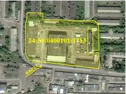 Продам з/у 1,3 га с комплексом зданий 4 844,3 кв. м в г. Красноярске. 13 000кв.м., собственность, электричество, вода