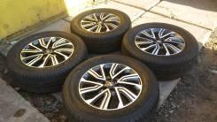 """Новый комплект колёс Nissan Navara, Pathfinder. 7.0x18"""" 6x114.30 ET45 ЦО 66,1мм."""