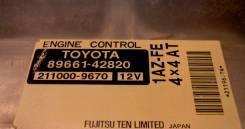 Блок управления двс. Toyota RAV4, ACA21, ACA21W Двигатель 1AZFE
