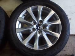"""Новые оригинальные колеса R17 225/55 Mazda 6 GJ 2012-18. 7.5x19"""" 5x114.30 ET50 ЦО 67,1мм."""