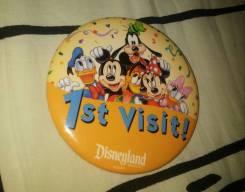 Значок Disneyland 1st Visit с 1 рубля!