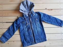 Куртки джинсовые. Рост: 134-140, 140-146 см