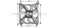 Вентилятор! Hyundai Santa Fe 2.0crdi 01-05 Ava арт. HY7508 Ava Hy7508_