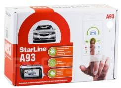 Сигнализация Starline A93 с автозапуском и установкой 6800р!