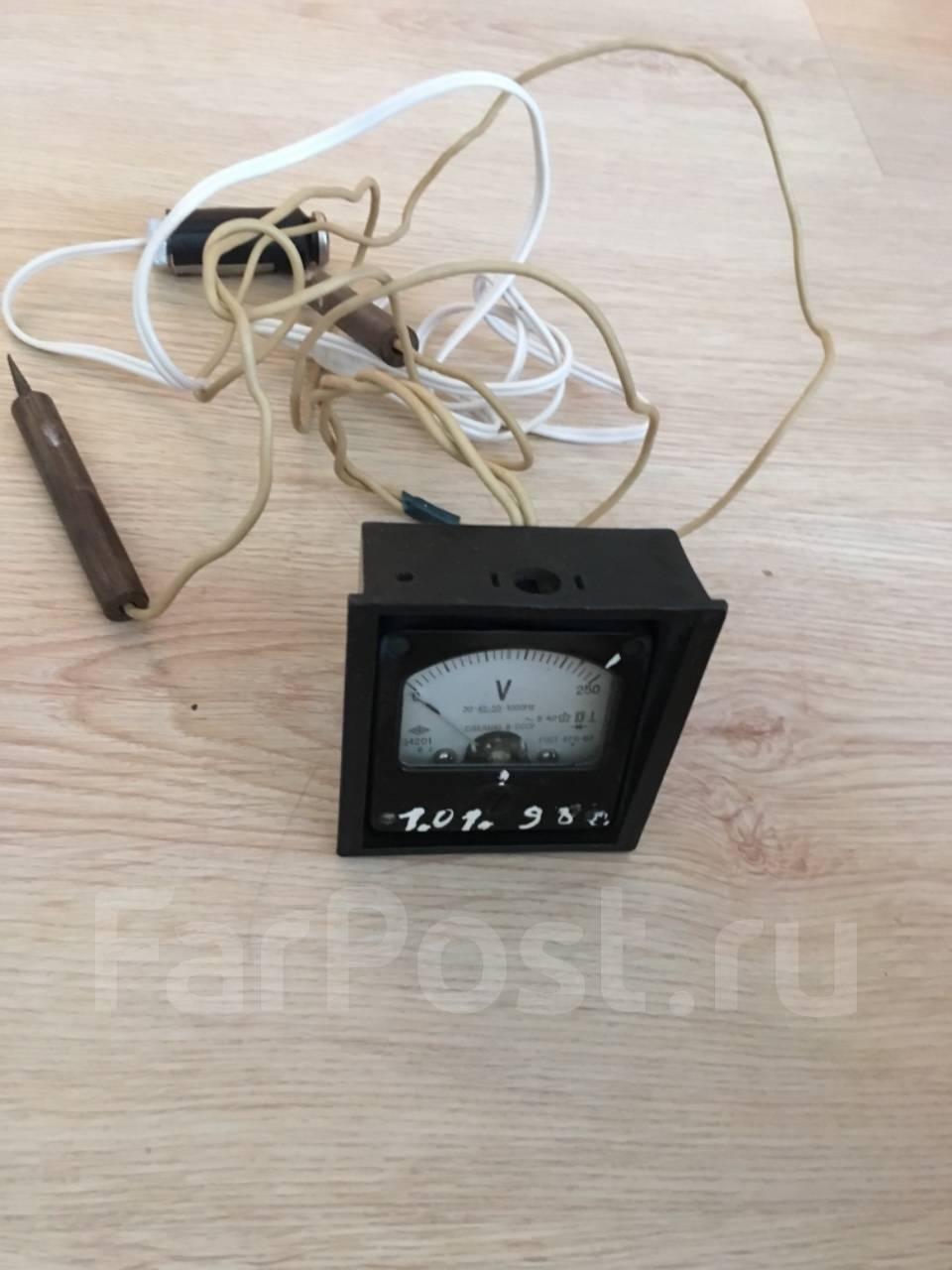Вольтметры, установка прочая электроника во Владивостоке 237635cbd54
