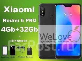 Xiaomi Redmi 6 Pro. Новый, 32 Гб, Черный, 4G LTE, Dual-SIM