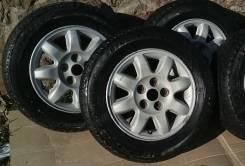 "Комплект Bridgestone Blizzak Revo GZ на дисках Mitsubishi. 6.0x15"" 5x114.30 ET46 ЦО 67,1мм."