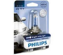 Лампа H11 12V 55W PGJ19-2 (серия CrystalVision) PHILIPS 12362CVB1