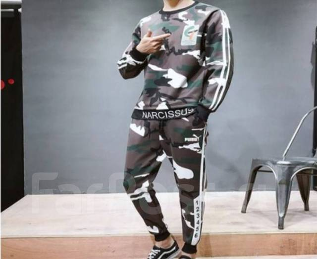 293b4149e4f1 Спортивный костюм хаки Puma. Магазин - Спортивная одежда во Владивостоке