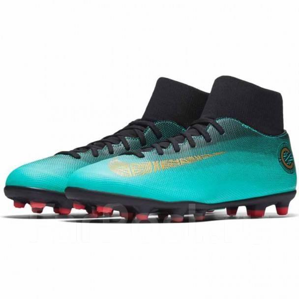 Фирменные Бутсы Nike Mercurial Superfly VI Club AJ3545 390 - Обувь ... 32dcc2f750dbc