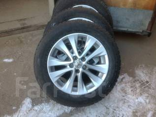 "Подаю комплект колёс на оригинальном лить. 7.0x18"" 5x114.30 ЦО 60,1мм."