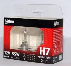 Лампа H7 12V 55W PX26d +50% Light VALEO 032519