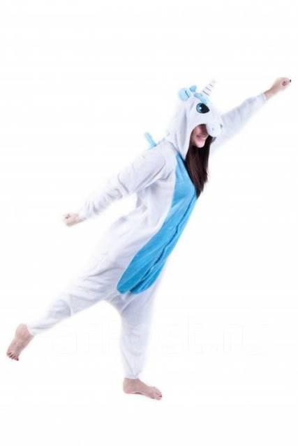 Кигуруми Единорог голубой - Одежда для дома и сна во Владивостоке 96048a95b47ff