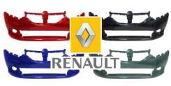 Бампер. Renault Logan, L8 Renault Sandero, 5S Двигатели: H4M, K4M, K7M, D4F