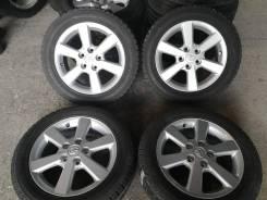 """Отличная зима Yokohama 205/55 R16 на оригинальном литье Тойота 5/114. 6.5x16"""" 5x114.30 ET45"""
