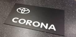 Табличка. Toyota Corona