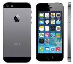 Apple iPhone 5. Б/у, 16 Гб, Серый, 4G LTE