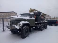 ЗИЛ 131. Буровая УГБ1ВС на базе ЗИЛ131, 6 000куб. см.