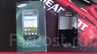 Samsung Galaxy Ace. Б/у, Черный